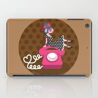 rockabilly iPad Cases featuring  rockabilly love by Kopfzirkus