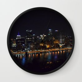 Pittsburgh Tour Series - City Wall Clock