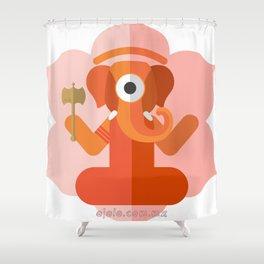 gan.eye.sha Shower Curtain