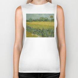 Vincent van Gogh - Flowers Near Arles Biker Tank
