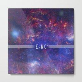 Universe Energy Metal Print