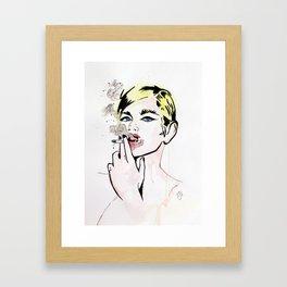 Monique. Framed Art Print