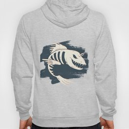 Fish Skull / Skeleton Hoody