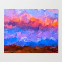 Boundless Dreams - Abstract Landscape Canvas Print