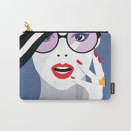 Vintage Inspired Fashionista Carry-All Pouch
