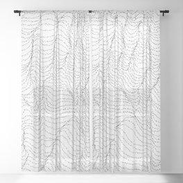 Unconscious Sheer Curtain