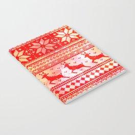 Reindeer Sweater Color Option Notebook