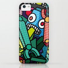 Artsy Bot iPhone 5c Slim Case