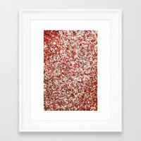 sparkles Framed Art Prints featuring Sparkles by Sharon Johnstone