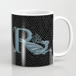 """Dragon Letter R, from """"Dracoserific"""", a font full of Dragons Coffee Mug"""