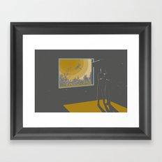 Morning halucination Framed Art Print