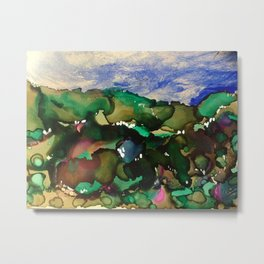 Bountiful Landscape Metal Print