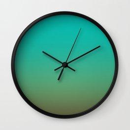 Sunset Gradient 3 Wall Clock