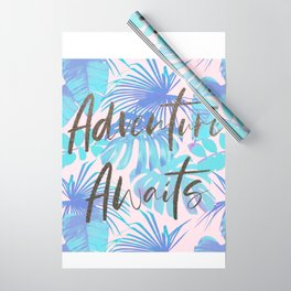 Tropical Adventure Wrapping Paper