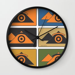 eye.gypt Wall Clock