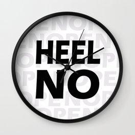 The nope Wall Clock