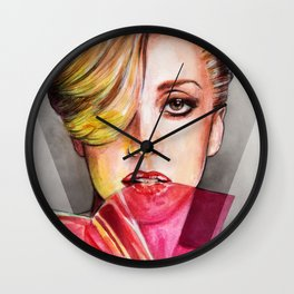 V Mag Wall Clock