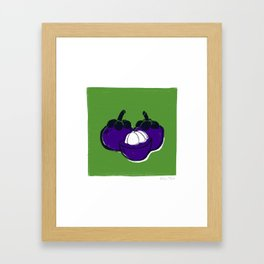 Mangosteen Framed Art Print