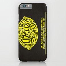 30 rock - liz lemon iPhone 6s Slim Case