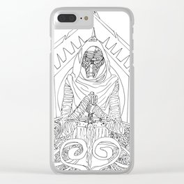 Art Nouveau Kylo Ren Clear iPhone Case