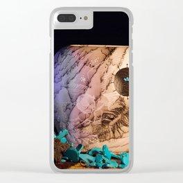 Horse Hair Dream1 Clear iPhone Case