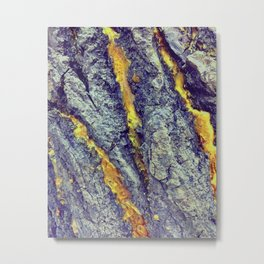Golden Sap Metal Print
