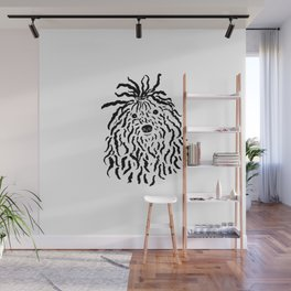 Puli (Black and White) Wall Mural