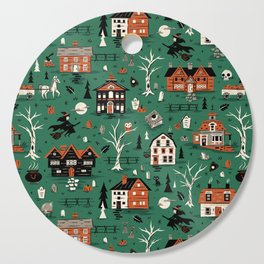 Salem Witches Cutting Board