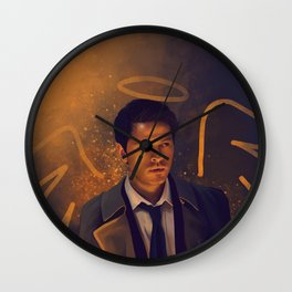 Castiel - Supernatural Wall Clock