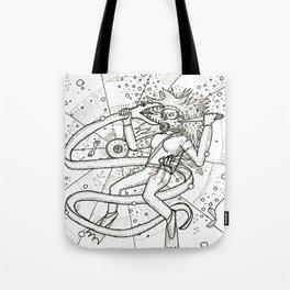 Diver Danger Tote Bag