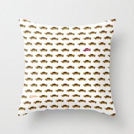 FVTVRA / LET ME RIDE Throw Pillow