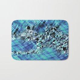 under the surface abstact art Bath Mat