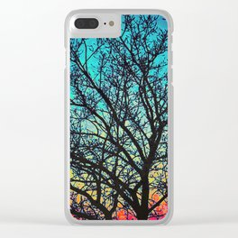 Vibrant Vignette Clear iPhone Case