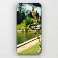 lonely iPhone & iPod Skins featuring lonely by Kras Arts - Fly Me To The Moon