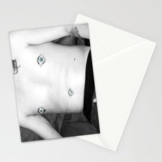 gaze into my nipples of the future Stationery Cards