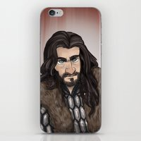 thorin iPhone & iPod Skins featuring Thorin by quietsnooze
