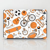 sports iPad Cases featuring SPORTS by Shoreside