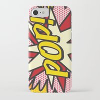 comic book iPhone & iPod Cases featuring Comic Book POP! by The Image Zone