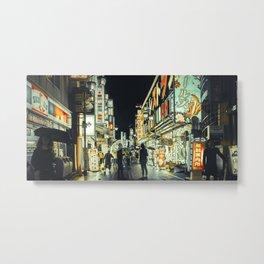TOKYO BLOOM - Kabukicho Fun Metal Print