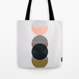 Circle stack Tote Bag