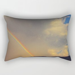 .over the rainbow. Rectangular Pillow