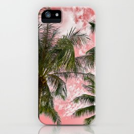 Pink paradise iPhone Case