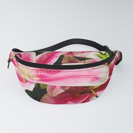 Pink Lilies of the Table Fanny Pack