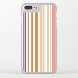 Simple murky Lines Minimalist Clear iPhone Case