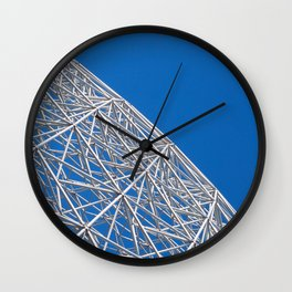 Biosphere Mesh Wall Clock