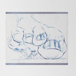 Big Gurl Crush Throw Blanket
