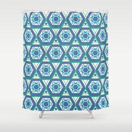 Geometric Shapes 4 Shower Curtain