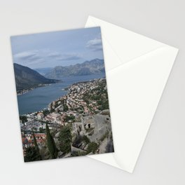 Kotor, Montenegro Stationery Cards