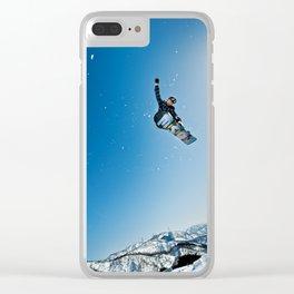 SnowBoard ! Clear iPhone Case
