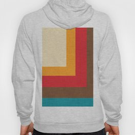 Abstract Mod Cube Beige #midcenturymodern Hoody